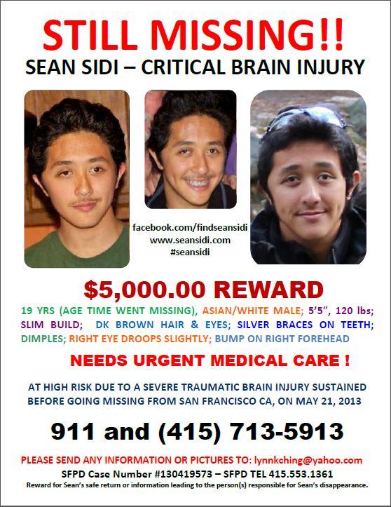 All posts tagged 'missing Sean Sidi'